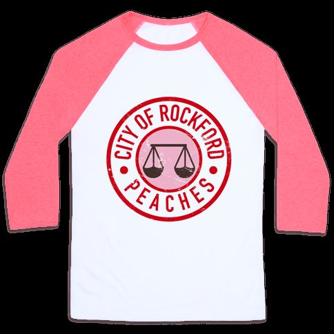 City Of Rockford Peaches - A League of Their Own t-shirt