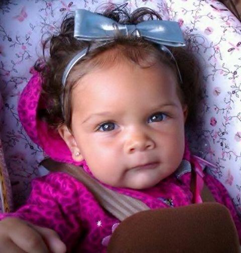 Mixed Newborn Baby Girl With Hazel Eyes Www Pixshark Com