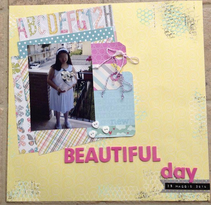 Winner - Palette #10 Letiziascrap: Beautiful day