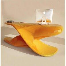 Scrivania Archer per ufficio studio design moderno 200 x 85 cm