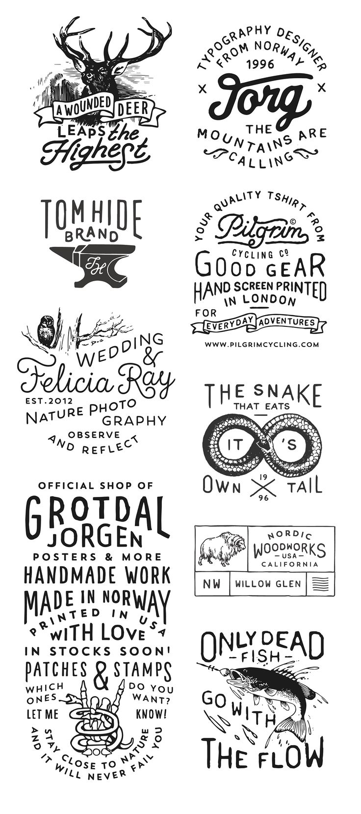 Posters & Logos on Behance