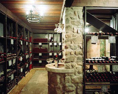 Wine Cellar, Eclectic Wine Cellar, New York
