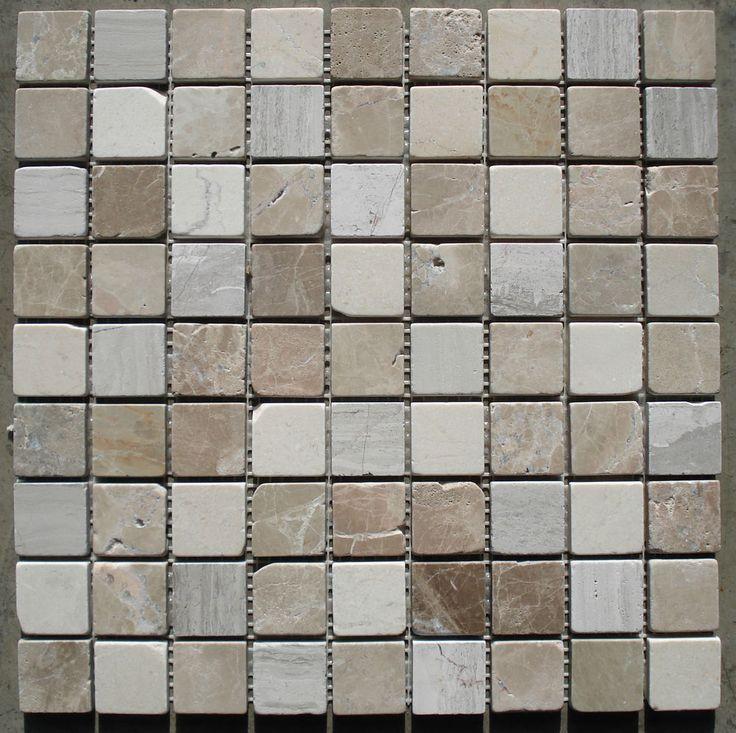Die besten 20+ Marmor mosaik Ideen auf Pinterest | Haupt-Bad ... | {Badezimmer fliesen naturstein mosaik 67}
