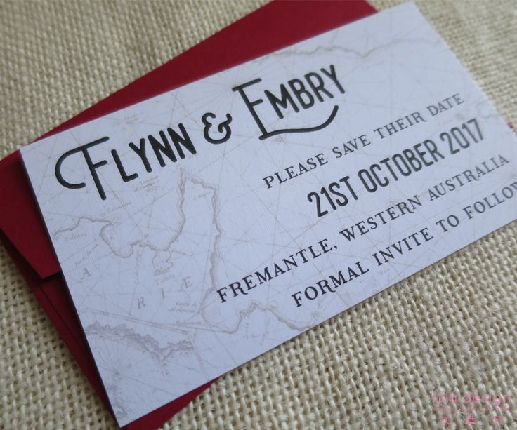 Flynn & Embry Save The Date