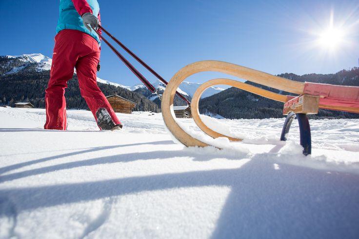 #Rodeln #Winter #Sonne #tiroleroblerand (c) Daniel Zangerl