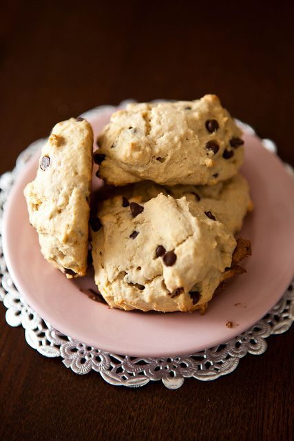 Gluten-free chocolate chip scones | Fooooood