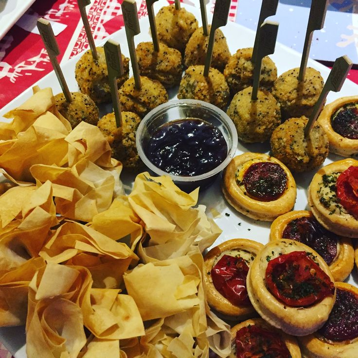 Really simple to cook and super tasty, this @Tesco Finest Party Food is great value. 3 for 2. Canapé selection, Brie and Cranberry Parcels and Mushroom Avancini bites. Highly recommended for the busy host! #Triedforless