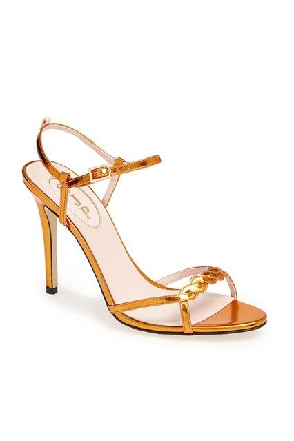 SJP 'Brigitte' Sandal in Pumpkin - Nordstrom Exclusive. Find this Pin and  more on Sarah Jessica Parker shoes ...