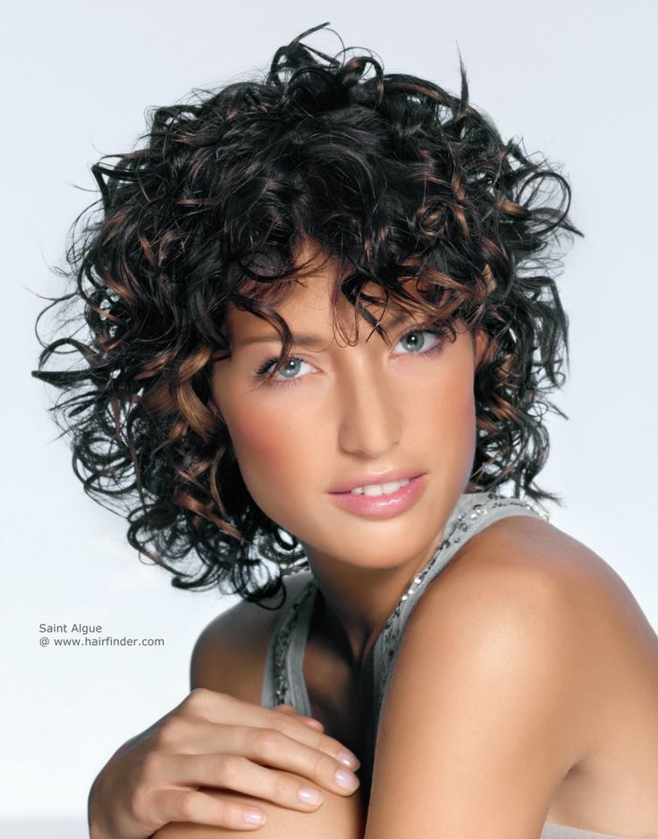 Wondrous 1000 Ideas About Layered Curly Hairstyles On Pinterest Curly Short Hairstyles Gunalazisus