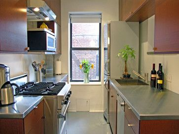 Small Co Op Apartment Modern Kitchen New York Maryellen Kowalewski Architect