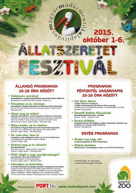 Plakát104: Állatszeretet Fesztivál