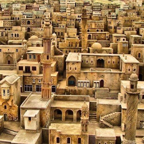 Paraiso perdido, Ciudad de Mardin, Turkey