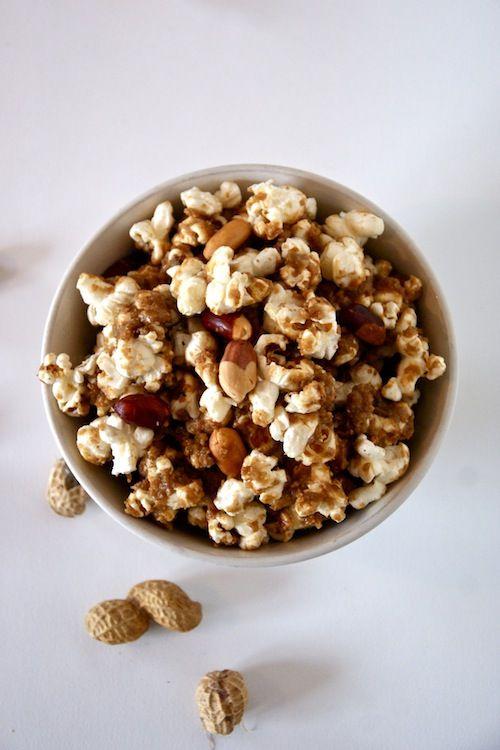 Pinda honing popcorn