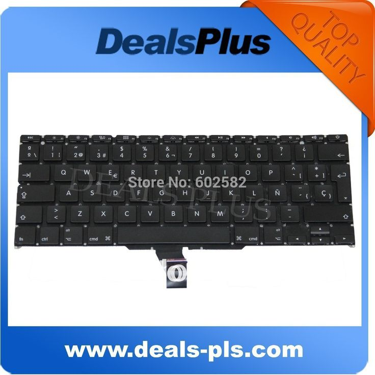 Tested keyboard For Macbook Air A1370 A1465 SP Spanish Keyboard 2011 2012 2013 2014 year Free Shipping