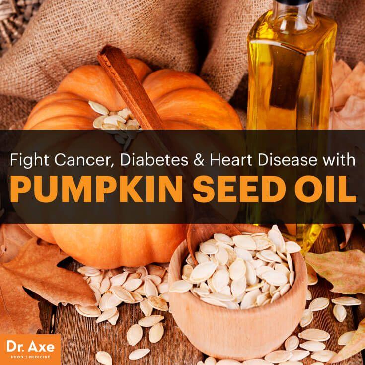 Pumpkin Seed Oil Benefits Prostate & Heart Health - Dr. Axe