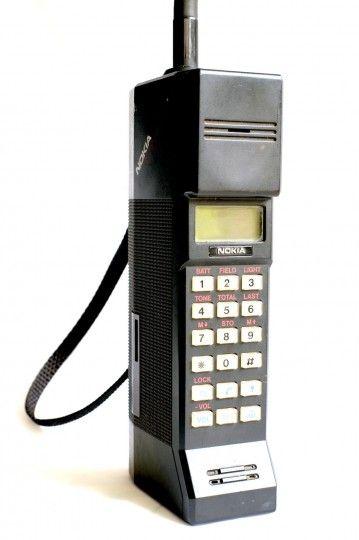 Nokia Cityman: 1st Nokia device (1987). Used by M. Gorbatchev !