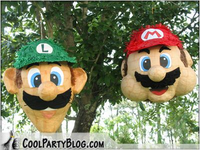 super mario brothers birthday ideas | By Carie - Cool Party Blogger | Published: June 19, 2009