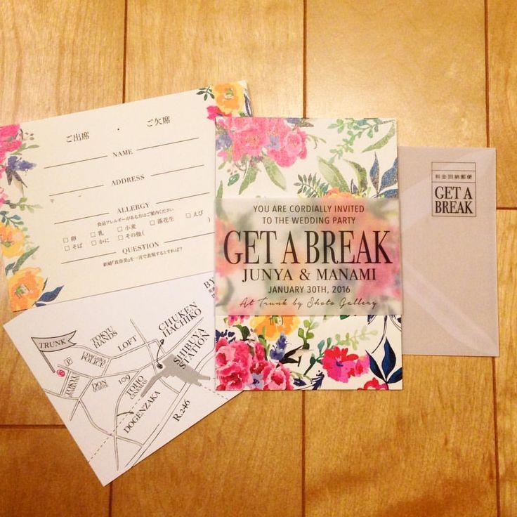 いいね!174件、コメント11件 ― PAPER DESIGNER 〔八木原〕さん(@yagihara.tsg)のInstagramアカウント: 「本日のパーティの招待状。 華やかなお花のイラストと、トレーシングペーパーのシャープさのコントラストが素敵に仕上がりました。  #trunkbyshotogallery #playful…」