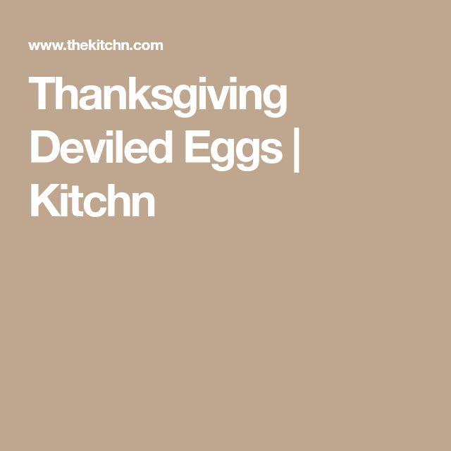 Thanksgiving Deviled Eggs | Kitchn