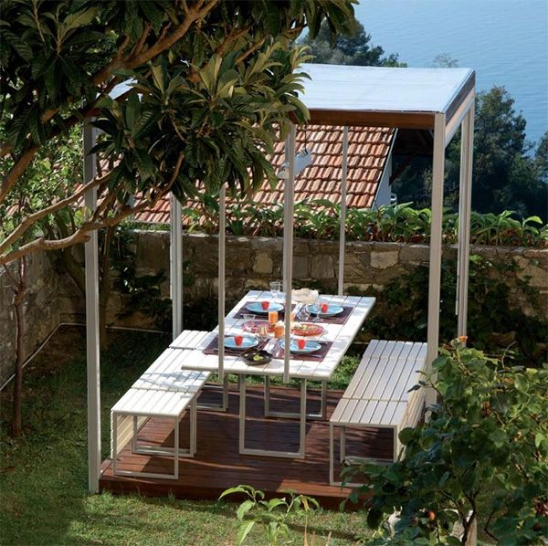 pircher gazebo canopies kuba 2 Gazebo Canopies   Kuba modern gazebo design by…