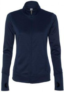 Image of Yoga Clothing For You Ladies Lightweight Performance Jacket, XL Navy