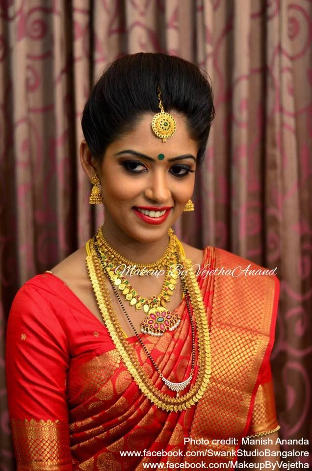Traditional Southern Indian Bride Jyothi Wears Bridal