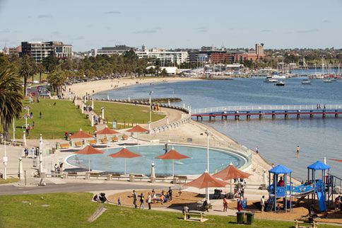 Geelong waterfront - the best waterfront in Australia!