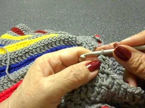 Sweter para niña Crochet parte 4 de 4 - YouTube