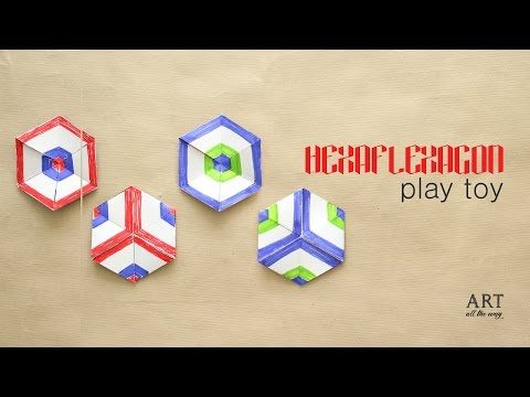 Best Flexagon Images On   Paper Crafts Papercraft