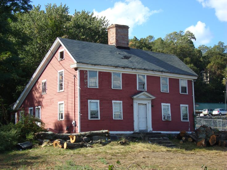 Another historic home lost - Oronoque Saltbox, Stratford, Connecticut. On the eve of its senseless demolition #oldhouse #historic #preservation