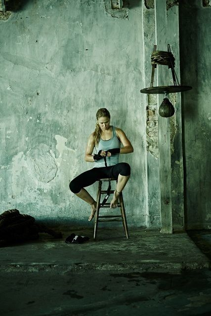 She's hot and sexy and will kick anybodies ass, or break an arm... Ronda Rousey undefeated #1 female mma fighter