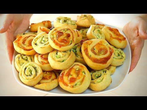GIRELLE SALATE ALLE ZUCCHINE Ricetta Facile Senza Burro e Senza Uova | Fatto in casa da Benedetta