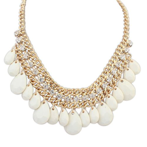 Kenia Glam Bead Necklace