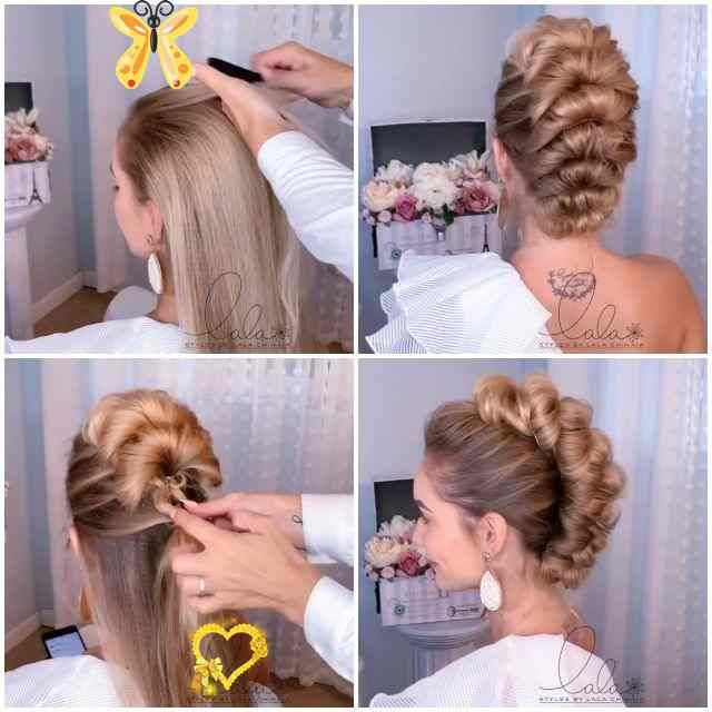 Hairstyles All Hairstyles Are Pretty Hairstyles Especially These By Lalasupdos Br In 2020 Lang Haar Kapsels Kapsels Kapsels Lang Haar Opgestoken Vlecht