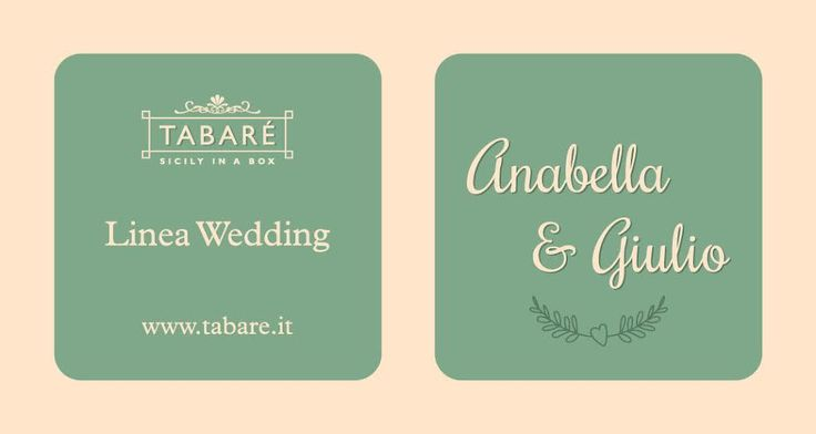 Exterior Stub of our Gourmet Wedding Favors #wedding #mariage #favors #bonbonnières #sicily #sicile #food #sicilianfood #gourmet