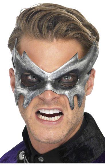 Silver Masquerade Mask | Jokers Masquerade