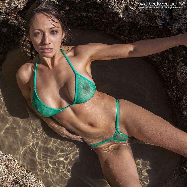 Bikini girl in weasel wicked