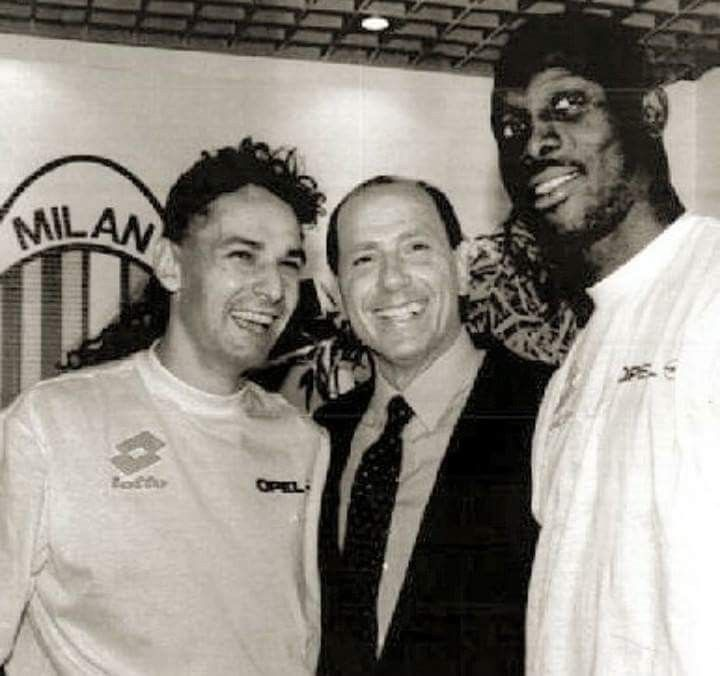 Weah and Baggio