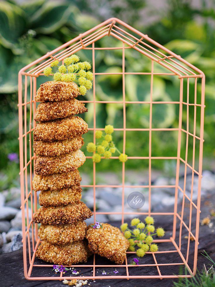 Wegańskie ciasteczka jaglane - Ale Babka!!! i robi to co lubi:)
