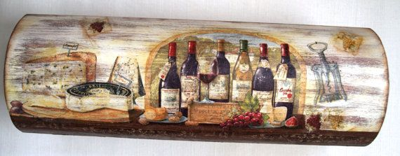 SALE wooden box for one bottle wine by InspirationOfNature on Etsy