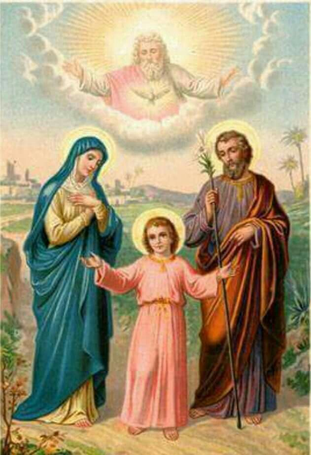 LA SAGRADA FAMILIA, JESÚS, JOSÉ Y MARÍA | Sagrada familia ...