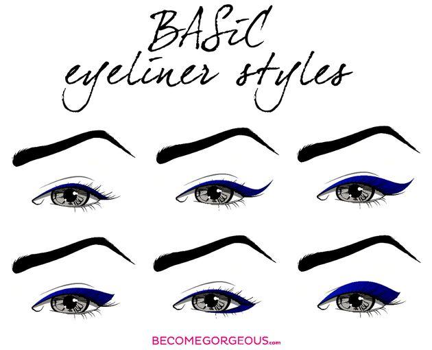 25  best ideas about eyeliner styles on pinterest
