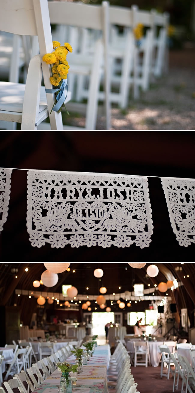 These doilies!!!! #wedding #DIY #adorable