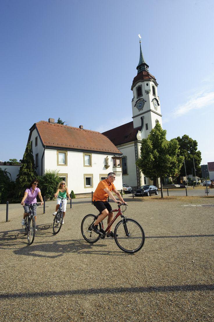 Blauer Himmel und eine schöne Tour mit dem Rad -http://www.schweinfurt360.de/  #visitfranconia #14cities