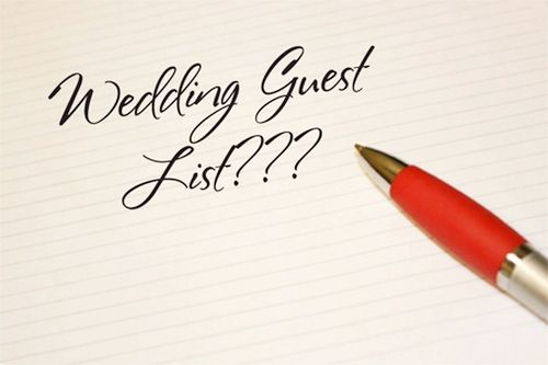 The Guest List Generally the guest list your other drives decisions, so it's smart to write Often the list sooner rather than later . Two of the earliest concerns dependent on final guest count are the total budget and the invitation requirements. The guest count has a trickle-down effect on just about all matters related to the wedding. If your list is extremely long, you both may want to ask only a handful of    Read More http://morefemale.com/plan-wedding-guest-list-wedding-stationery/
