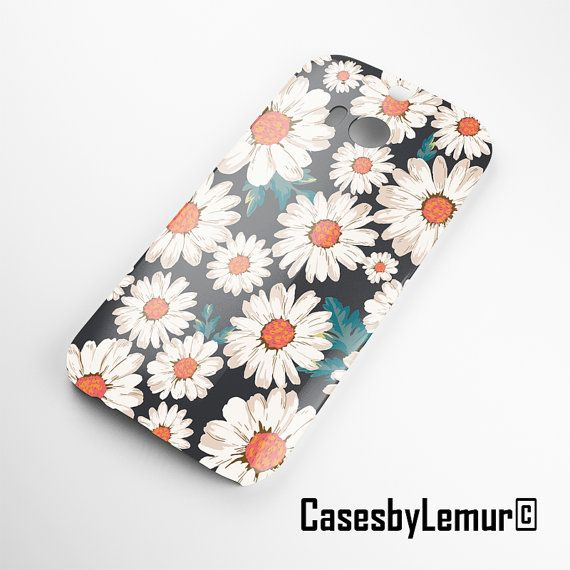 Daisy HTC one m8 case HTC one m7 case Htc one X case by LemurCases