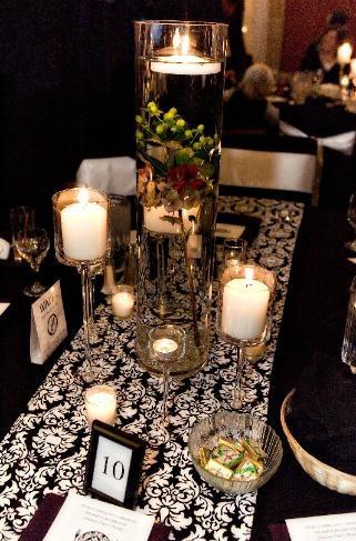 Damask Table Runner - Veiled Events & 82 best Damask Wedding Decorations images on Pinterest | Cake ...