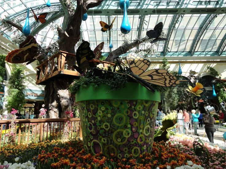 66 best images about bellagio in vegas on pinterest for Outdoor pots las vegas