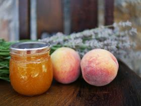 Backwoods Mama: Peach Lavender Jam; summer 2013 | Canning and ...