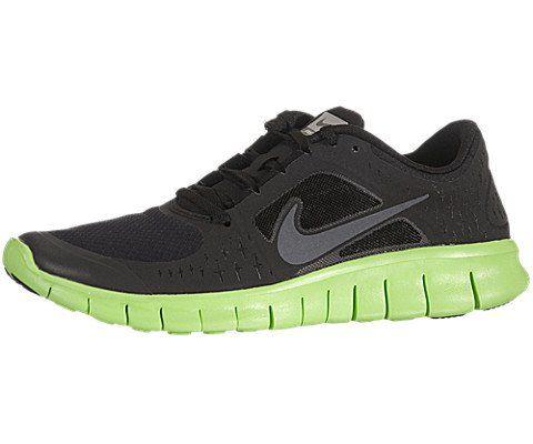 Nike Kids's NIKE FREE RUN 3 (GS) RUNNING SHOES 4.5 (BLACK/DARK GREY/ELECTRIC GREEN) at http://suliaszone.com/nike-kidss-nike-free-run-3-gs-running-shoes-4-5-blackdark-greyelectric-green/